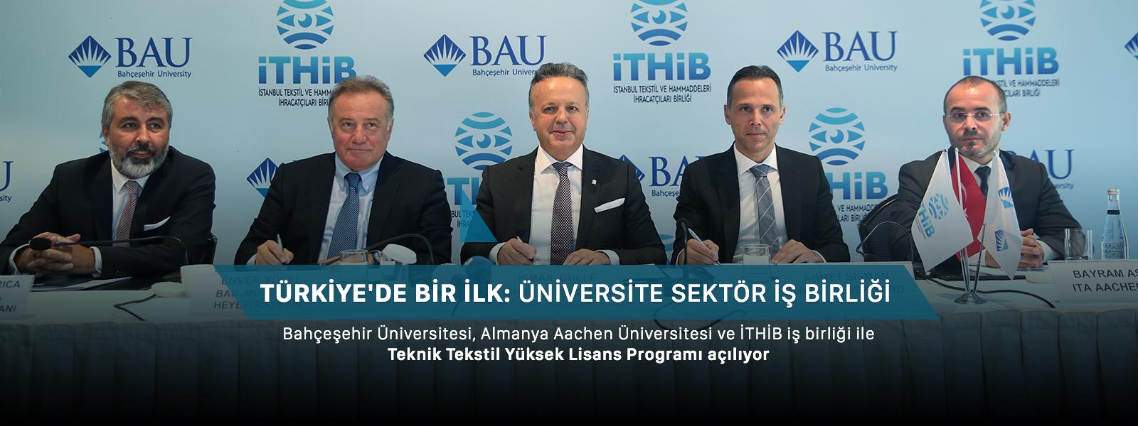 http://content.bahcesehir.edu.tr/bahçeşehir üniversitesi, ithib, teknik tekstil yüksek lisans