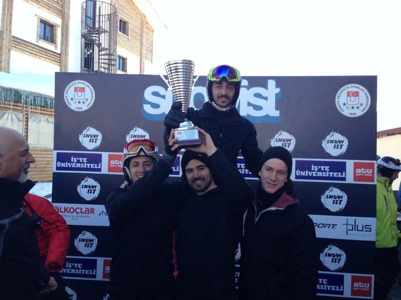 BAU Snowboard Takımı Şampiyon Oldu