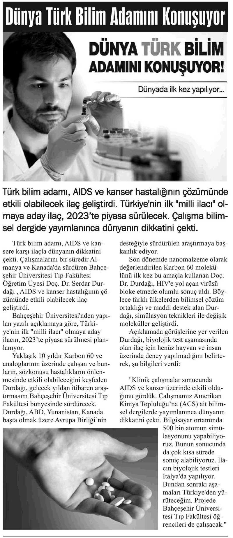 http://content.bahcesehir.edu.tr/bau,türker kılıç, tıp fakültesi,basın