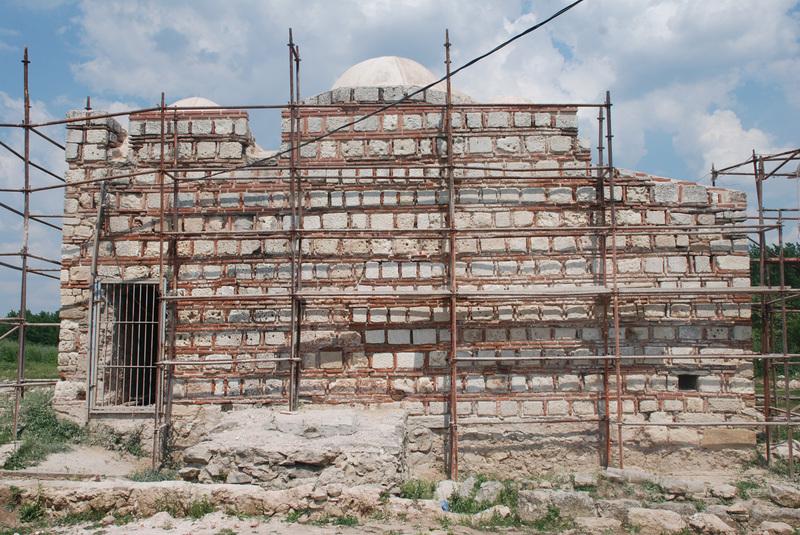 http://content.bahcesehir.edu.tr/Edirne, bau, arkeoloji, yeni saray, 2013