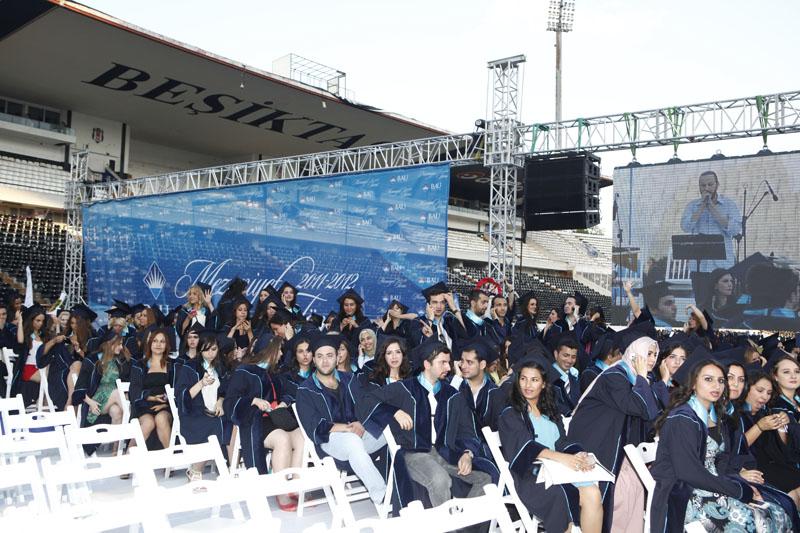 http://content.bahcesehir.edu.tr/bau, mezuniyet, tören, 2011
