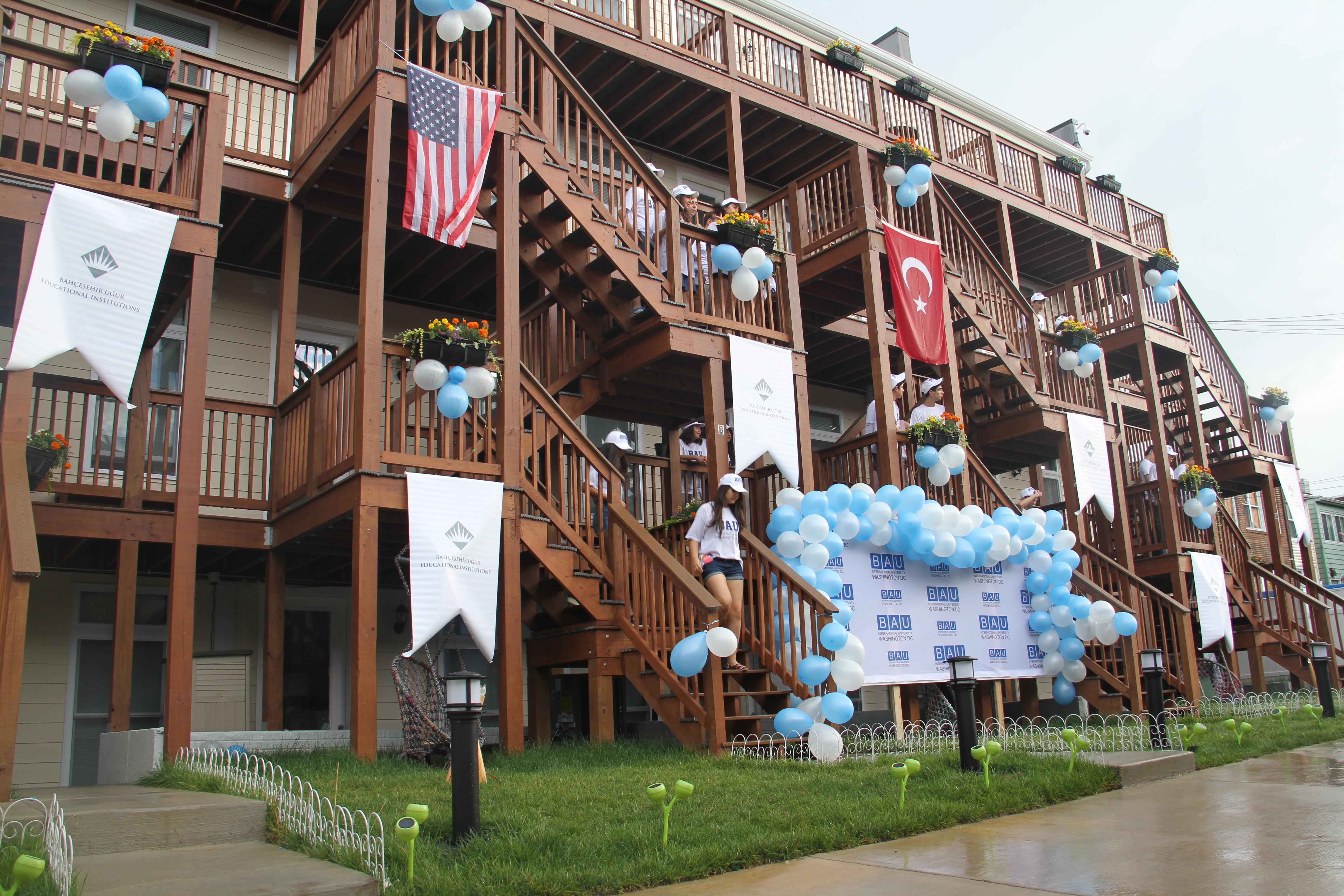 Washington D.C.'de İlk Türk Öğrenci Yurdu