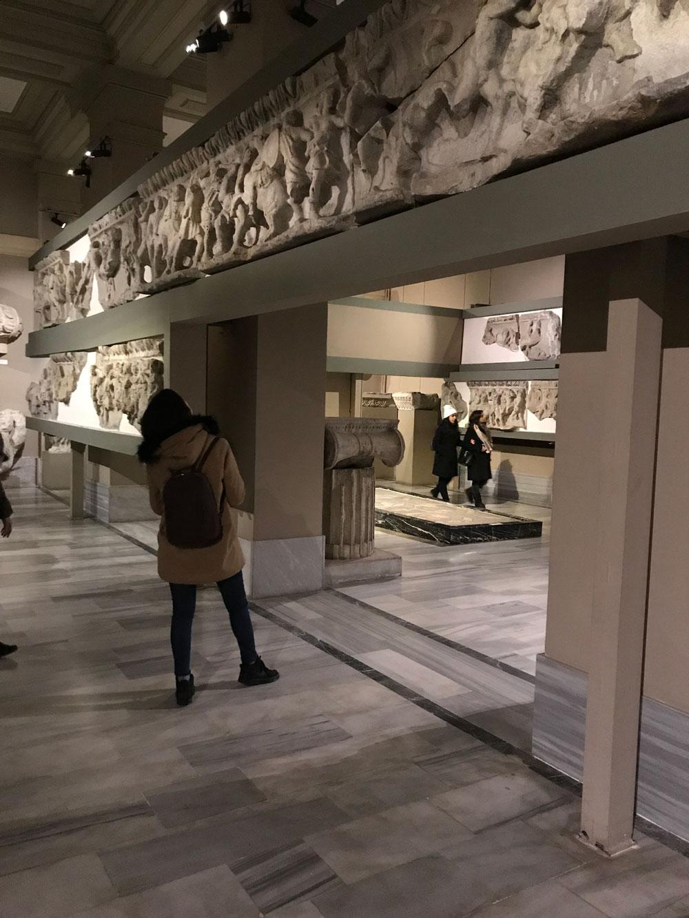 BAU Okul Öncesi Eğitimi bölümü Arkeoloji Müzesi'ni ziyaret etti