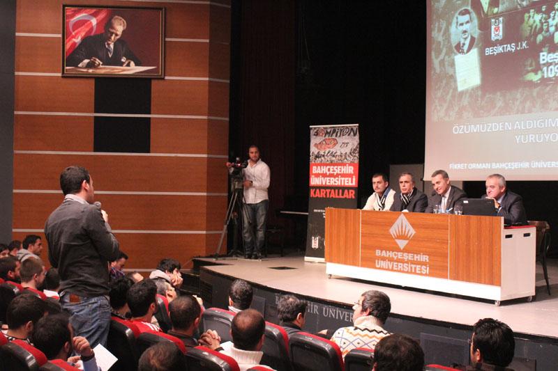 http://content.bahcesehir.edu.tr/BJK Başkanı Fikret Orman BAU'daydı